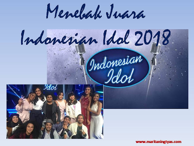 Juara Indonesian Idol 2018