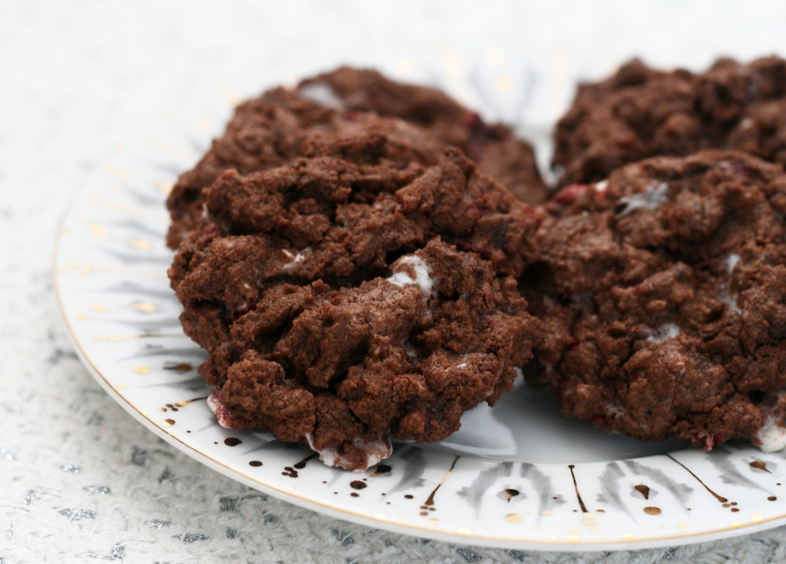 Recipes By Rachel Rappaport Double Chocolate Candy Cane Cookies