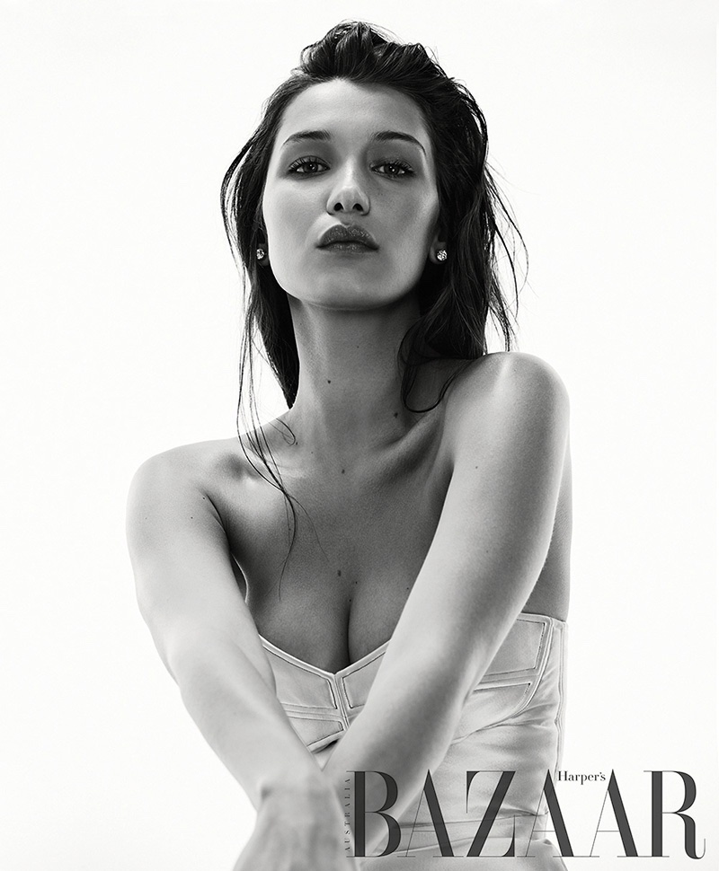 Bella Hadid stuns for Harper's Bazaar Australia August 2016