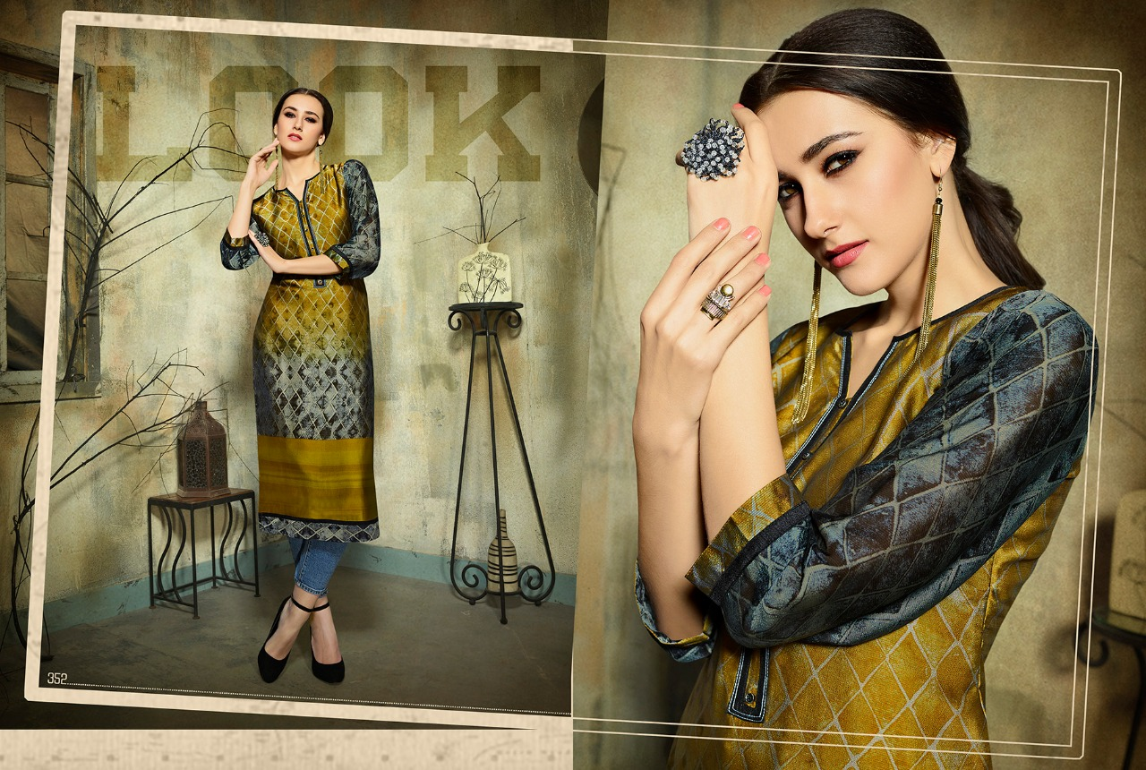 Kajree Fashion dark fantasy vol 5 printed Kurties collection