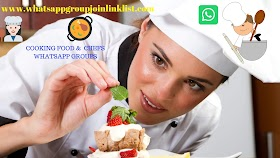Cooking Food and Chefs WhatsApp Group Join Link List