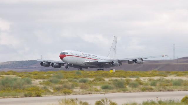 Despedida del B707 del Ejército del Aire