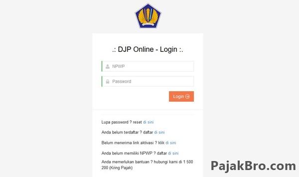Cara mendaftarkan Akun DJP Online dengan Benar