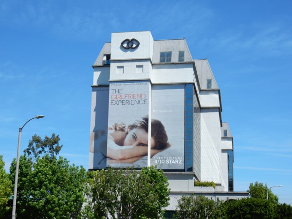 Girlfriend Experience TV billboard