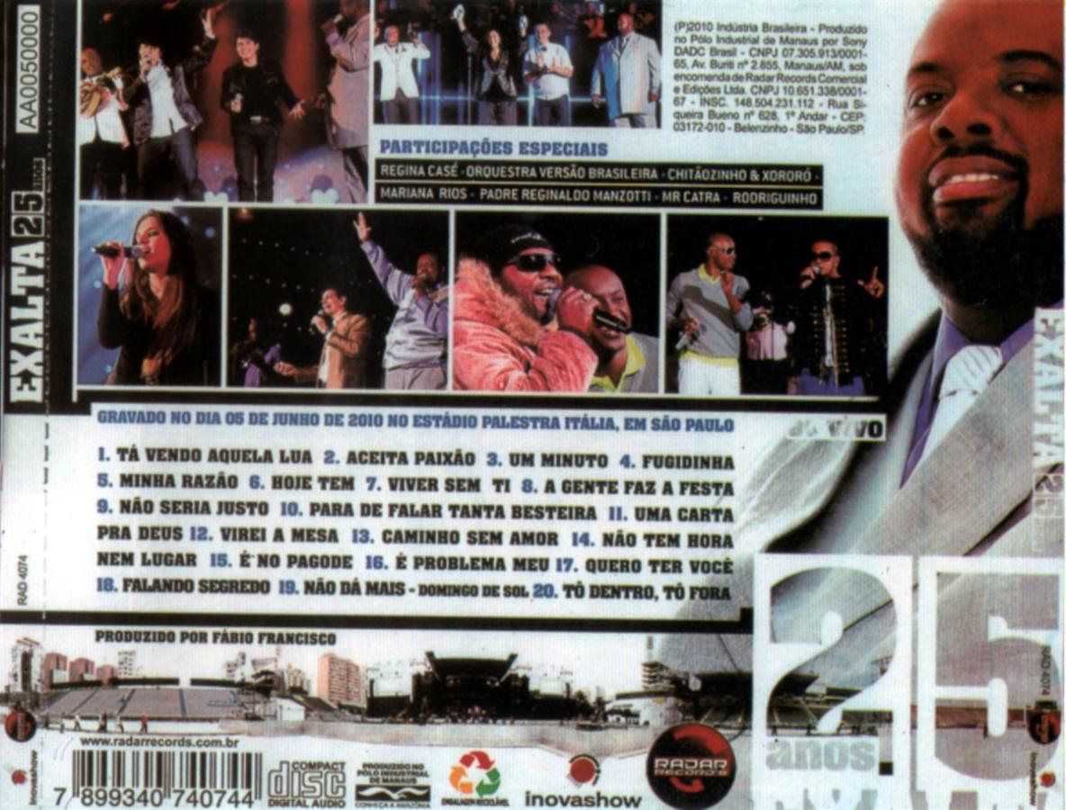 DO BAIXAR CD O EXALTASAMBA 2010 NOVO