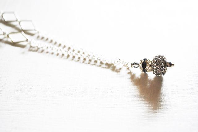 beads and wires collana swarovski