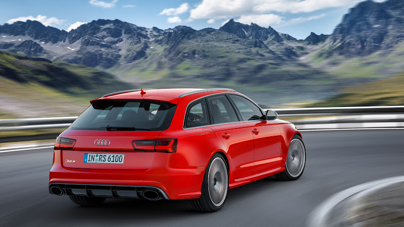 2 Audi RS 6 Avant