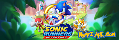 Download Sonic Runners Adventure v1.1.0 Apk Mod Money