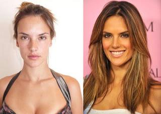maquilhagem+antes+e+dp+Alessandra+Ambr%C3%B3sio+10 - Famosas Antes e Depois da Maquilhagem