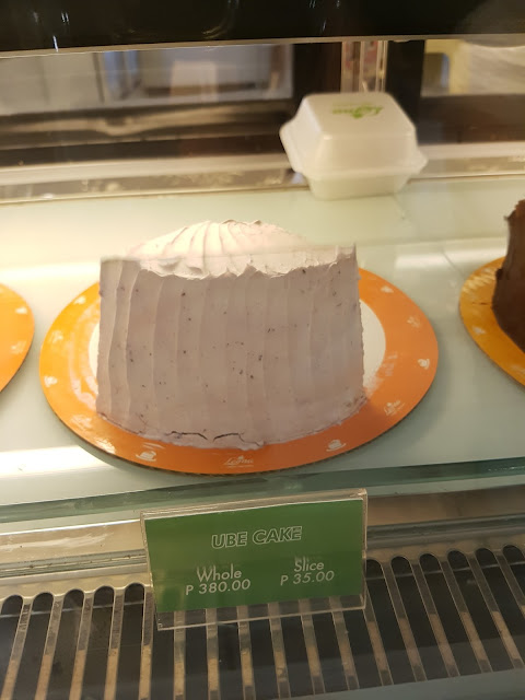 Leona's Bakeshop Ube Cake @ P35 per slice