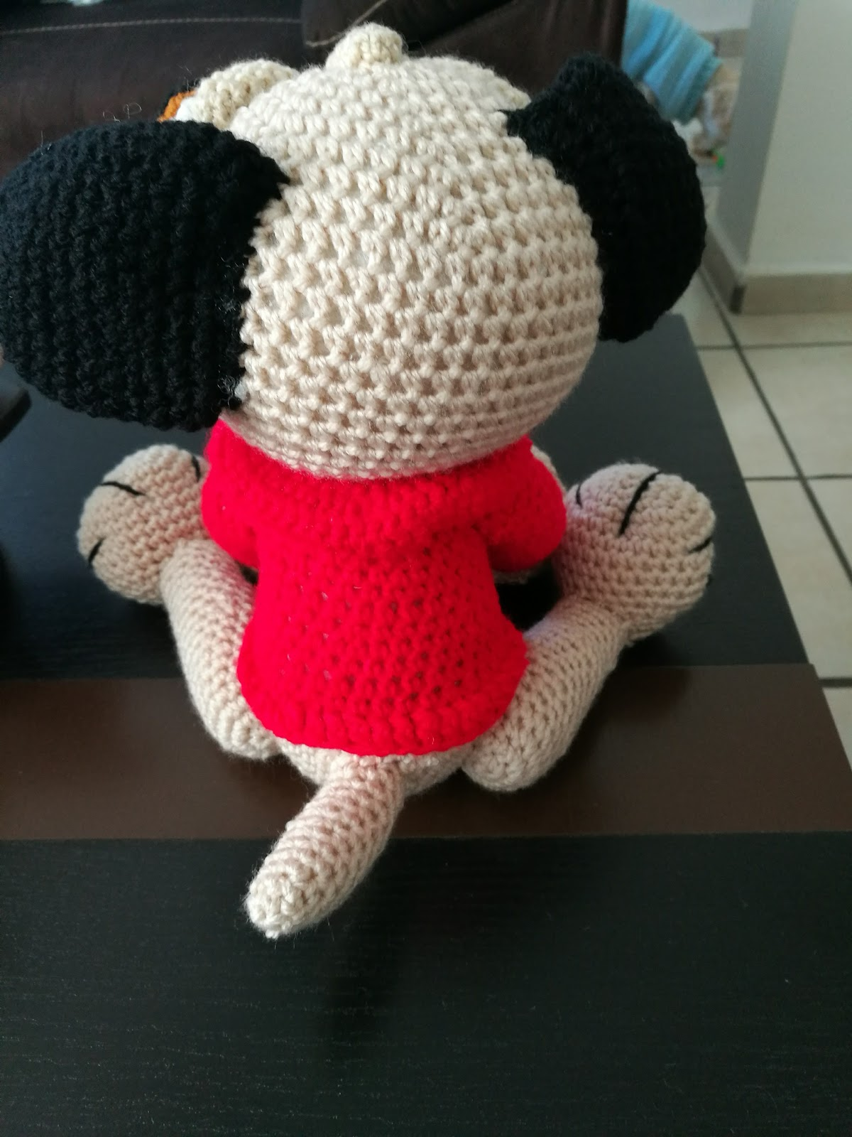 Amigurumi | Como hacer un Perro Pug en Crochet | Bibi Crochet ... | 1600x1200
