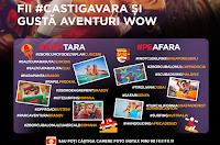 Castiga 9 excursii internationale + 63 de excursii in Romania + 504 de camere foto FUJIFILM wow