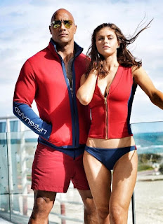 BAYWATCH OFFICIAL First Two Trailers, with Dwayne Johnson and bikini clad Alexandra Daddario