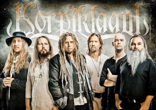 Photo des membres de Korpiklaani