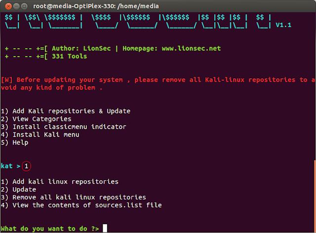 2 Cara Install Tools Kali Linux Di Debian, Ubuntu Dan Linux Mint Katoolin