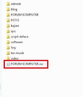 Cara Termudah Membuat File ISO Menggunakan Winrar