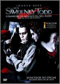 Sweeney Todd - O Barbeiro Demoníaco da Rua Fleet Dublado (2007)