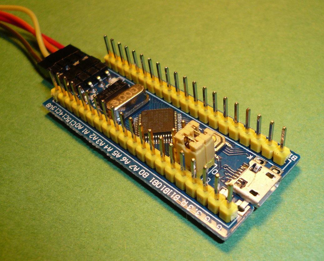 Électronique en amateur: Programmer un STM32F103 (blue pill) avec l