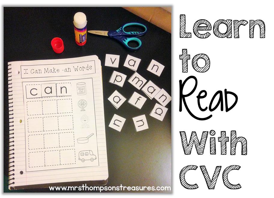 https://www.teacherspayteachers.com/Product/CVC-Word-Families-Interactive-Notebook-1235903