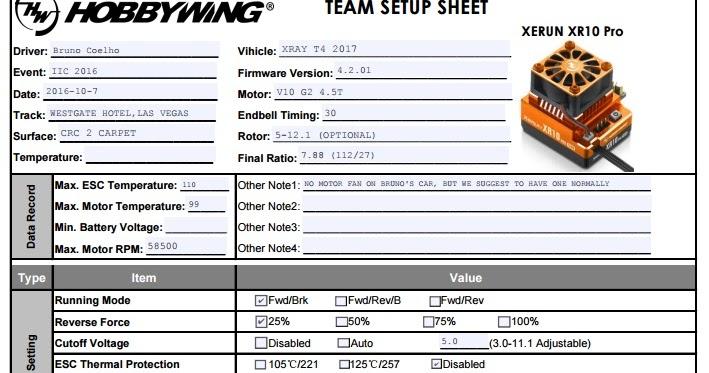 ホビー ウイング xr10 pro ファームウェア