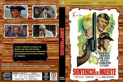 Cover, caratula, dvd: Sentencia de muerte | 1968 | Sentenza di morte