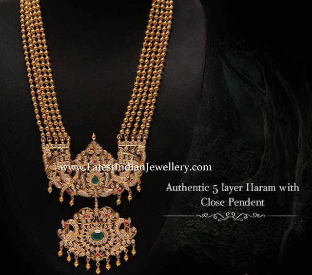 5 Layer Haram Close Pendant