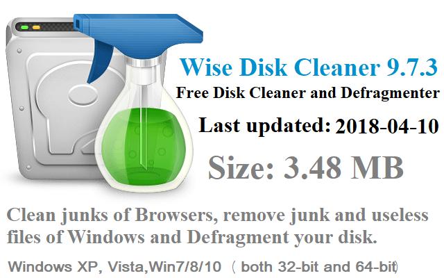 تحميل برنامج  Wise Disk Cleaner 9.7.3.690 لتنظيف وتسريع الكمبيوتر آخر إصدار