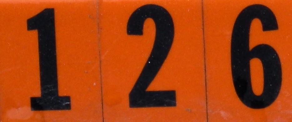 numberaday 126