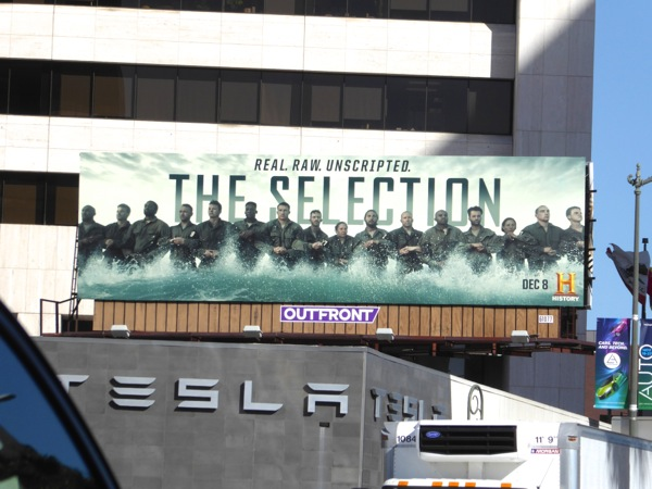 Selection series premiere billboard