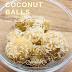 Kulki kokosowe a la Raffaello - wegańskie, keto, bez glutenu, bez mleka