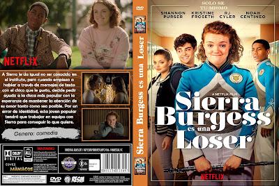 CARATULA SIERRA BURGESS IS A LOSER - SIERRA BURGESS ES UNA LOSER - SIERRA BURGESS ES UNA PERDEDORA - 2018 - [COVER DVD]