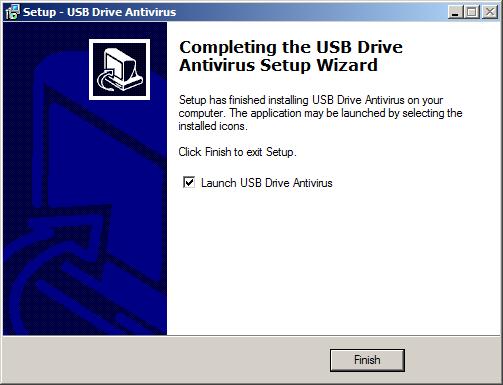 تحميل وثبيت وشرح برنامج USB Drive Antivirus لفحص الحاسوب و USB