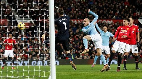MU thua trận trước Man City với tỷ số 0-3