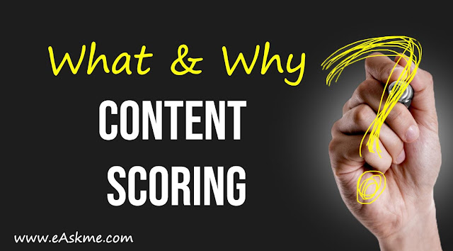 Content Scoring : Why it is Important for Content Marketing Success: eAskme