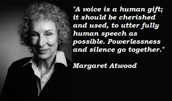 "how does margaret atwood portray love Margaret atwood's ""siren song"": summary & analysis atwood changes the perspective and tone of homer's tale in an attempt to remove the socially."