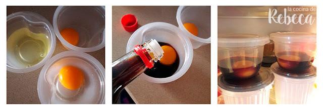 Receta para curar yema con salsa de soja 01