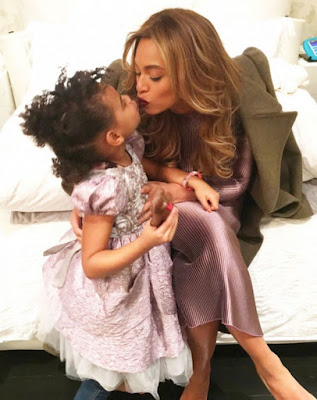 Beyonce and daughter