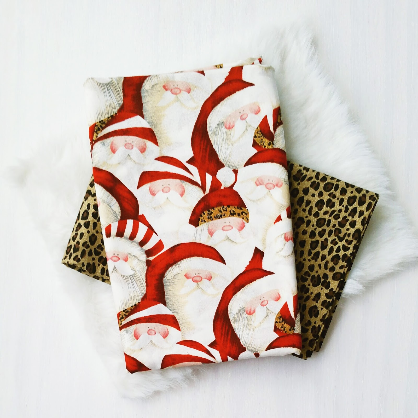 Wild About Christmas Fabric Combo by Bambino Amore - the Apron Makers