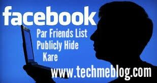 Facebook Friends List Ko Hide Kaise Kare(How To Hide Facebook Friends List For Publicly)