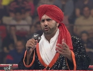 WWE / WWF - Tiger Ali Singh faced Gilberg