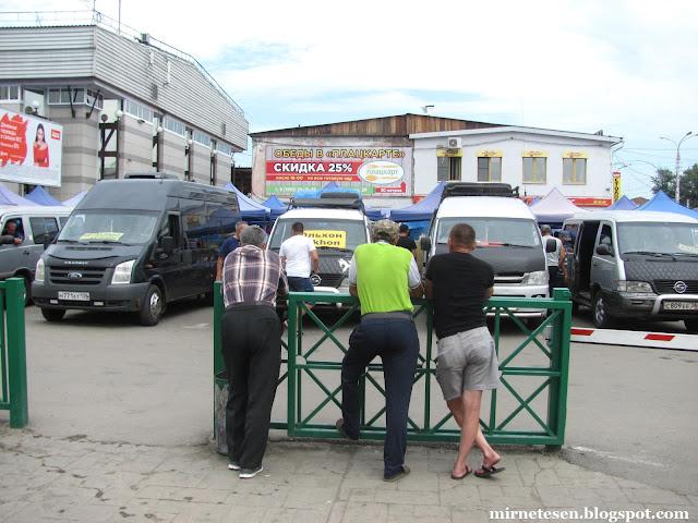 Где искать маршрутки на Байкал