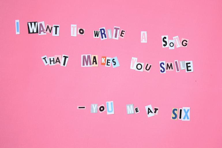 you me at six cut out lyrics