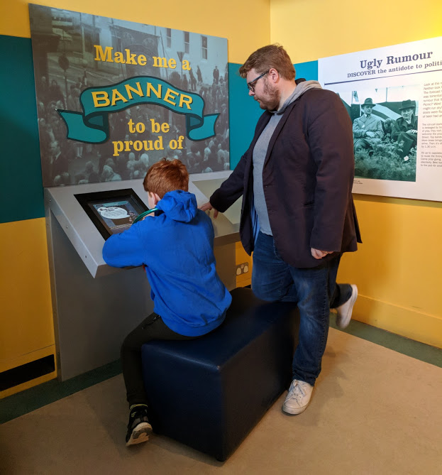10 Reasons to Visit Woodhorn Museum (A Review) - design a banner