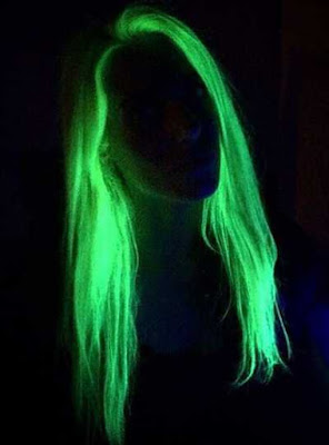 gaya warna rambut glow in the dark_9522487