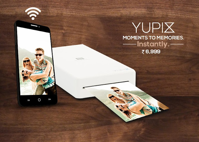 YuPix Portable Mobile Photo Printer