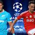Zenit x Benfica - Champions League 2016 - Data, Horário e Tv