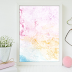 ↣ FREE Watercolor - Cotton Candy Watercolor Texture