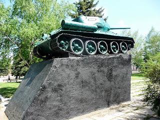 Дружковка. Памятник воинам 3-й Гвардейской армии Юго-Западного фронта