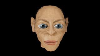 Gollum Head Bust