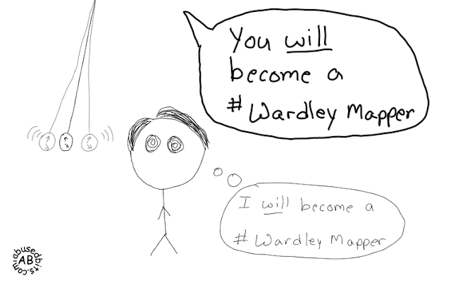 amusedbits, cartoon, humor, mapping, maps, Wardley,